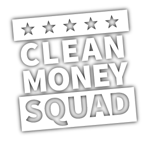 Clean Money Squad logo